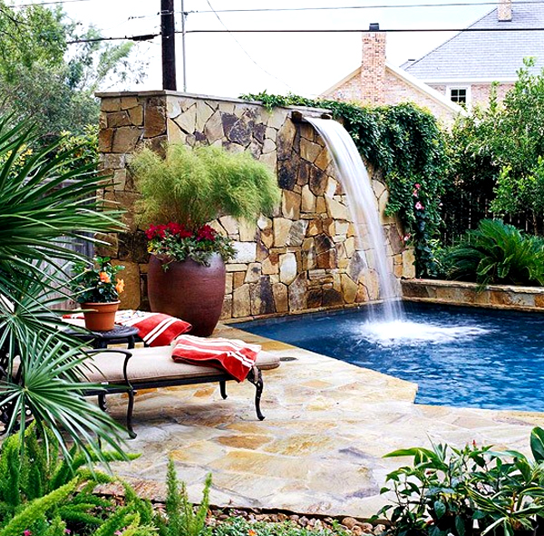 14 Comfortable And Modern Backyard Pool Ideas: Comfortable-and-modern-outdoor-furniture-with-backyard-pool