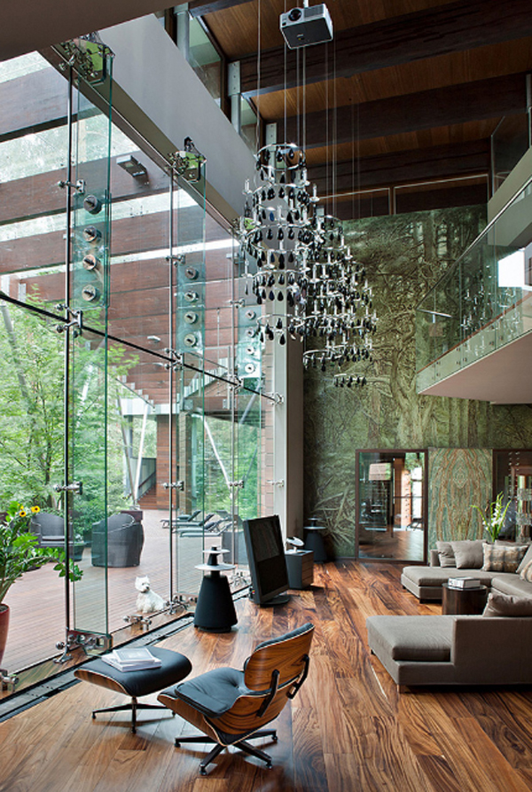 contemporary home decor located in russia