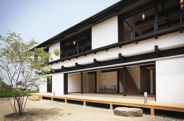 contemporary japanese house with traditional ideas