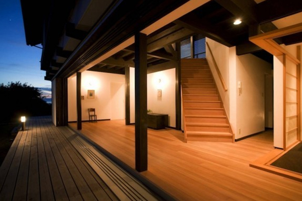 contemporary japanese house  traditional ideas