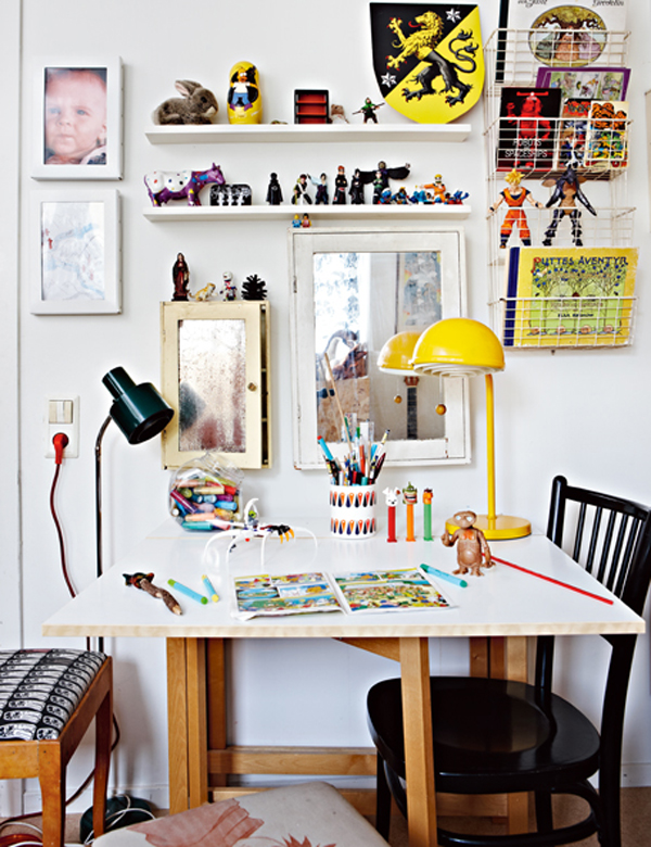 18 creative and modern desk space for kids home design and interior
