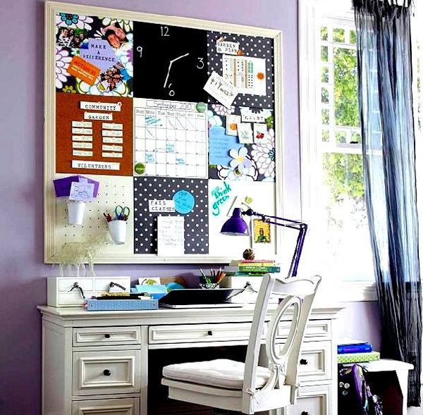 Futuristic home office decorating ideas for Home office makeover ideas