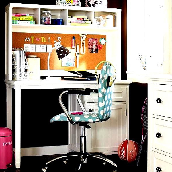 futuristic home office ideas for girl