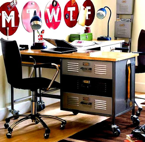 Futuristic-home-office-desk-with-small-space-ideas
