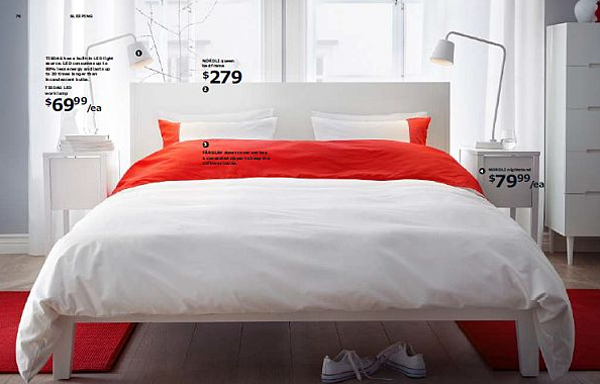 Inspiring ikea catalog furniture with bedroom 2013 for Bed furniture design catalogue