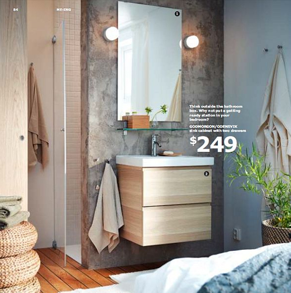 Inspiring Ikea Furniture Bathroom 2013