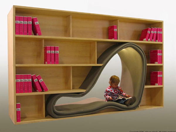 Unique Kids Bookshelf 600 x 450