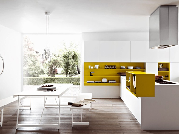 Minimalist Kora Kitchen Design By Cesar Arredamenti