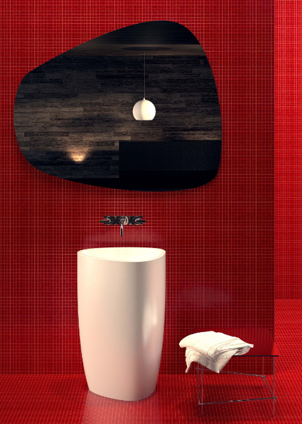 modern-red-bathroom-with-beyond-basin-by-danelon-meroni