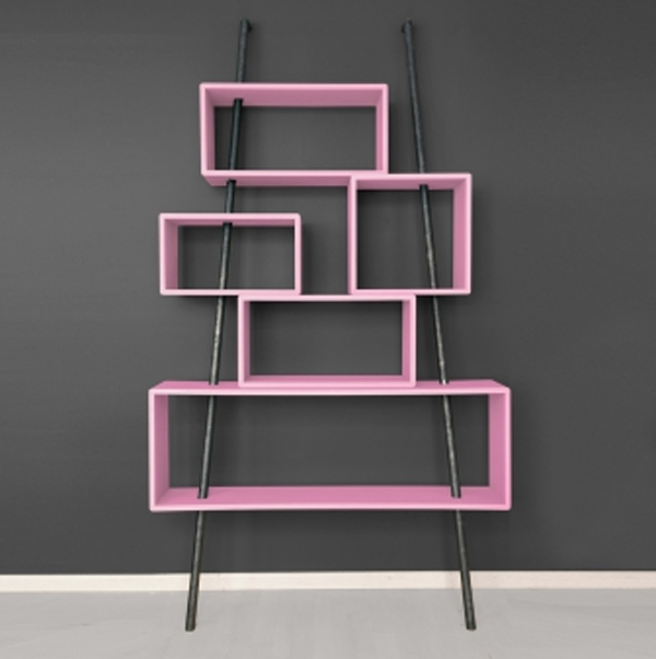 pink-kids-furniture-with-wall-system-ideas