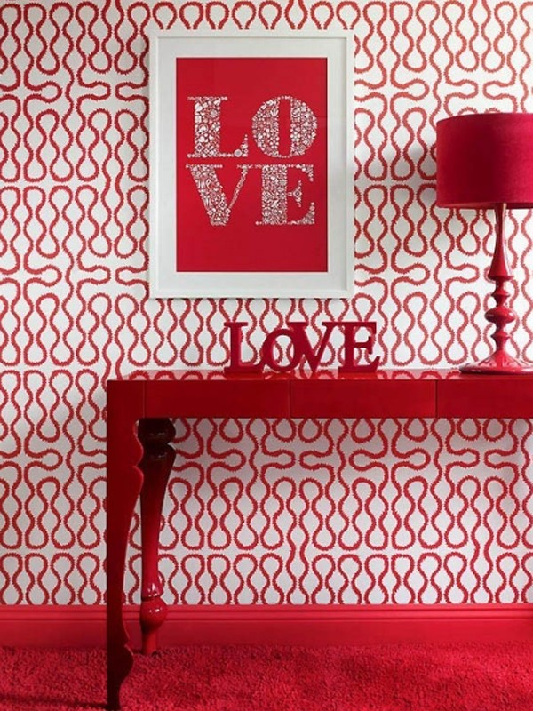 Valentine day design for room decorations for Home decorations for valentine s day