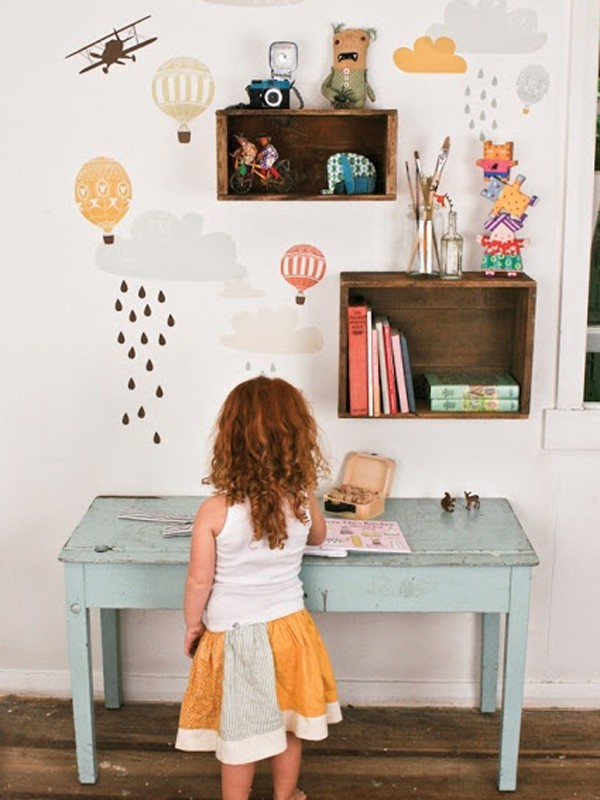 Cute Desk Space For Kids