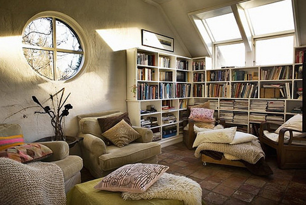 Trendy and casual living room ideas 2013 for Cozy reading room design ideas
