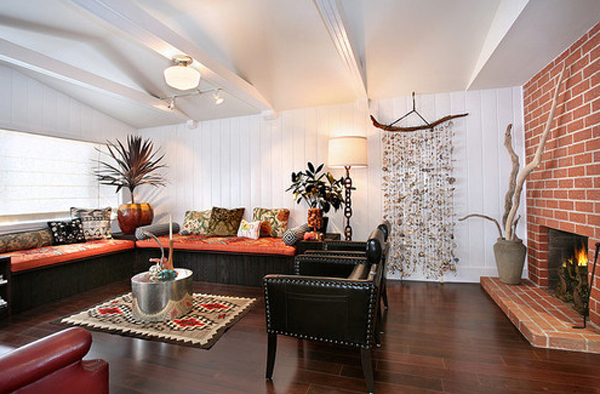 10 Trendy And Casual Living Room Decor 2013 | Home Design ... on Fireplace Casual Living id=14545