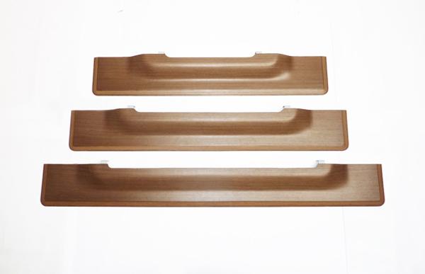 wood shelves pattern ideas