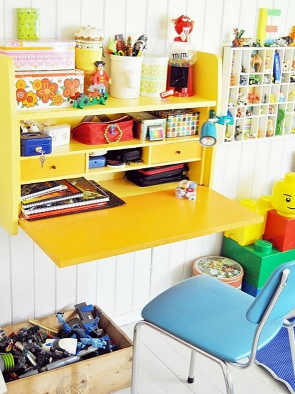 gallery of 18 creative and modern desk space for kids