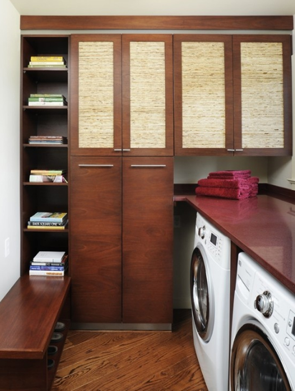 15 creative laundry room units with wooden furniture 15 Creative Laundry Room Design with Wooden Furniture