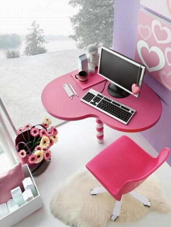 17 Office Decorations With Pink Themes