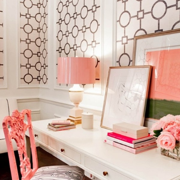 Gallery of 17 Pink Office Ideas : Cute Space For Girl