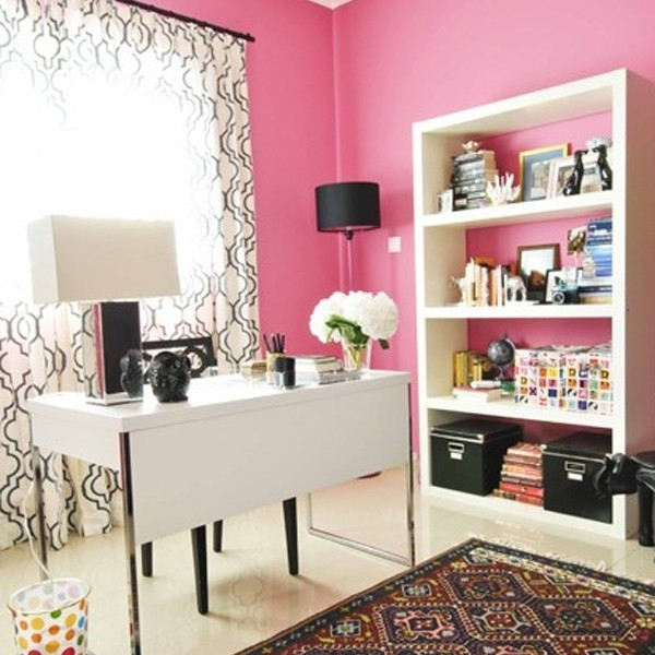 17-pink-office-room-ideas-for-girl