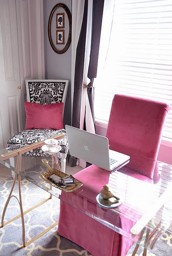 Small Modern Makeup Room