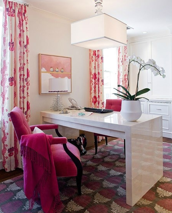17-pink-office-room-design-for-girl