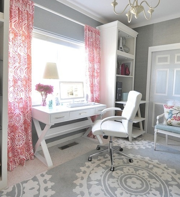 17-white-and-pink-office-room-for-girl