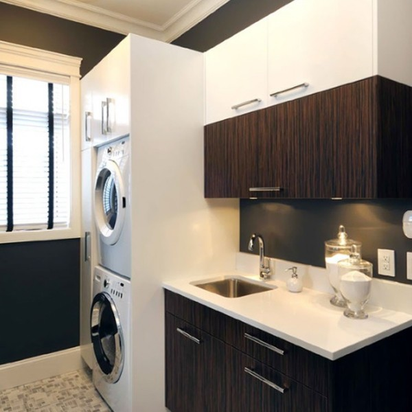 20 small laundry room design ideas for Laundry room design ideas