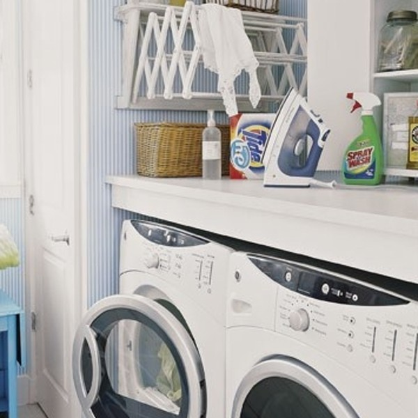 20 small laundry room storage solutions - Laundry storage solutions for small spaces photos ...