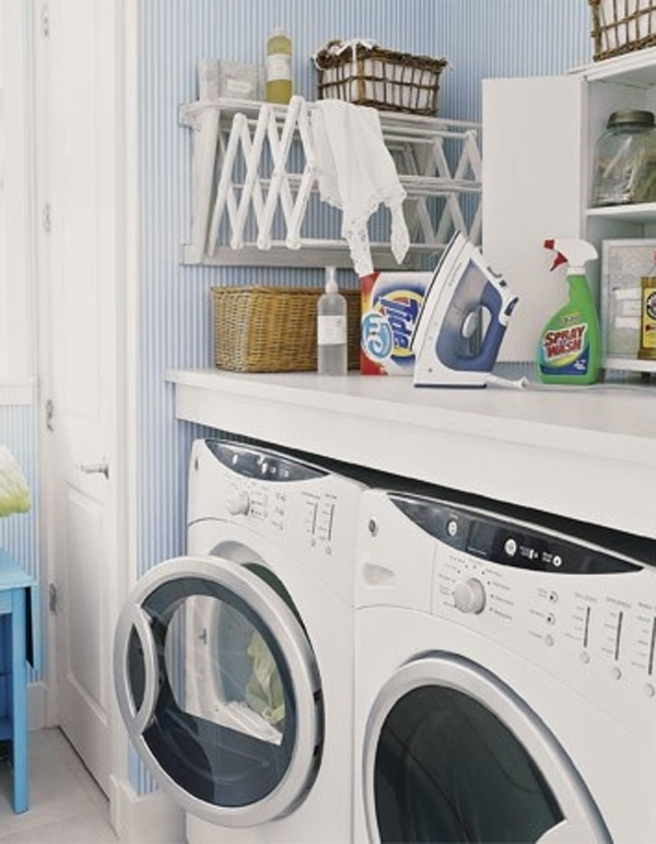 Small shelves laundry room design ideas joy studio for Small utility room