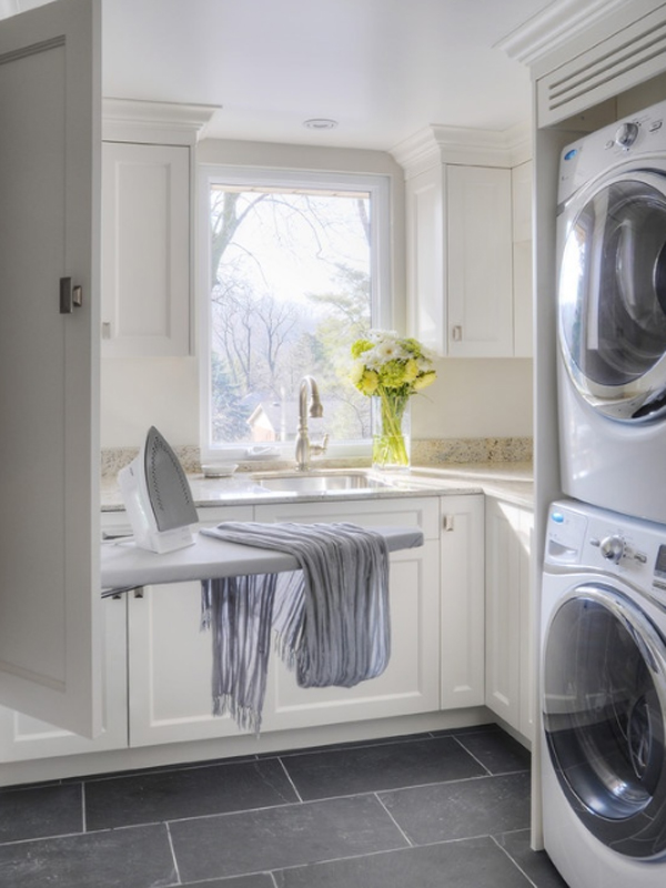 20 laundry room design with small space ideas for Utility room design