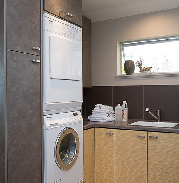 20 small laundry room decoration with small space solutions - Small space room design image ...
