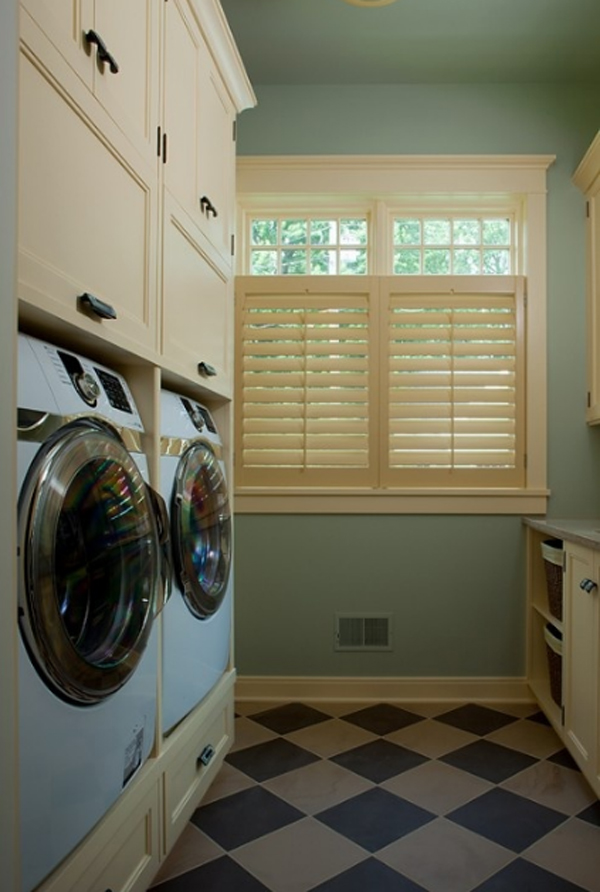 20 small laundry room ideas with space solutions - Small space room design image ...