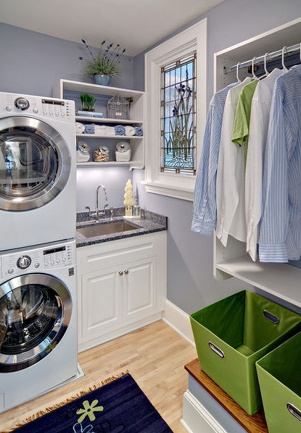 20 small laundry room organizer with small space solutions for Small room solutions