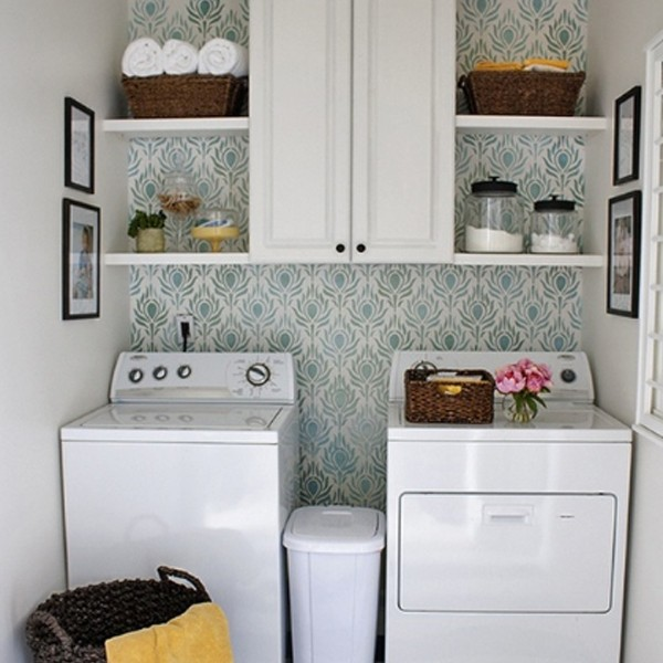 20 small laundry room storage solutions - Small space storage solutions for bedroom ideas ...