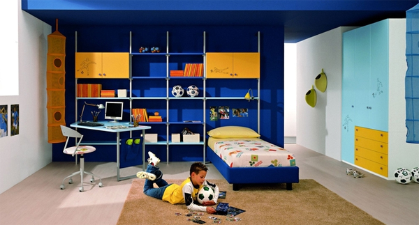 Gallery Of 25 Cool And Colorful Boys Bedroom Design By ZG Group