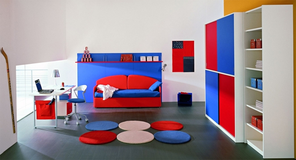 boys bedroom sets.  25 cool and colorful boy bedroom sets by ZG group