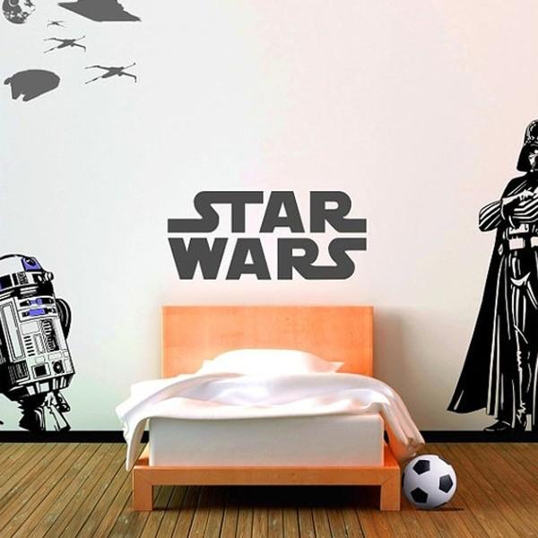 30 kids bedroom ideas with starwars theme for Boys star wars bedroom ideas