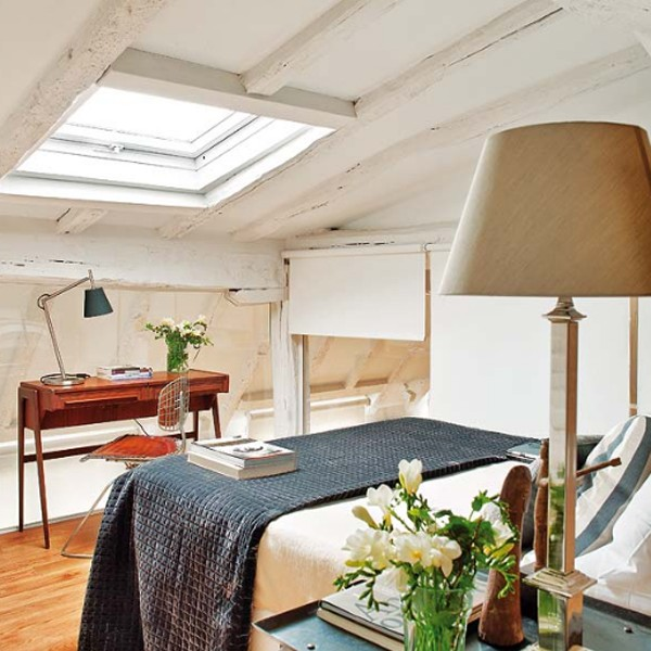 Apartment Located: Attic-apartment-ideas-with-living-room-decor-located-in-spain