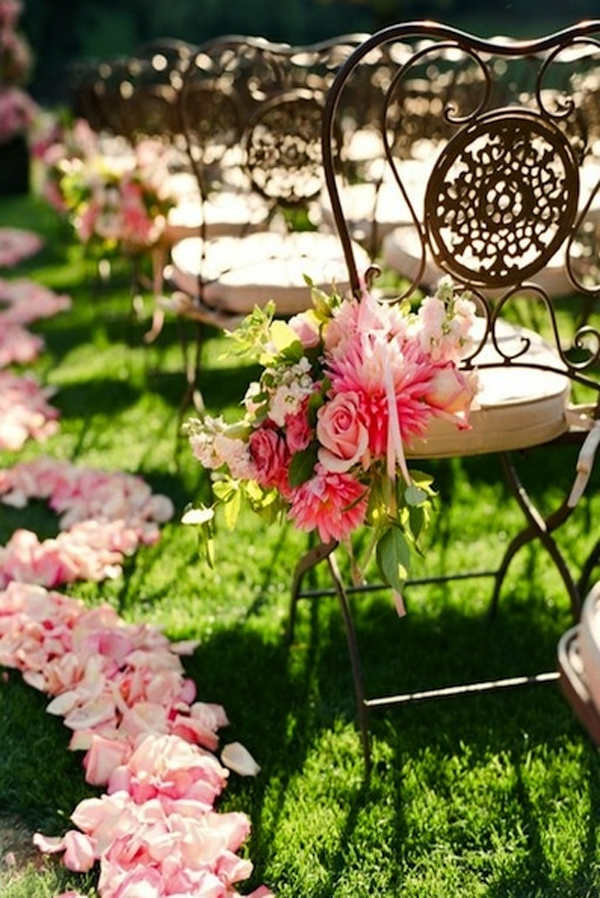beutiful wedding decorator with flower themes 15 Wedding Garden Decorations With Flower Themes
