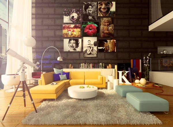Spring Will Be Here Soon, But Warmth Of The Light And Happiness Have Been  Able To Feel. Collection Summer Living Room Is An Idea How To Decorate  Living Room ... Part 19