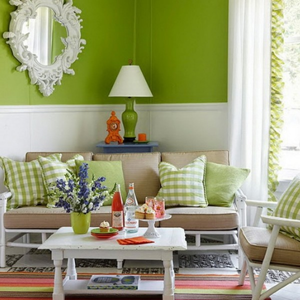 Gallery Of 15 Chic And Colorful Spring Living Room Designs