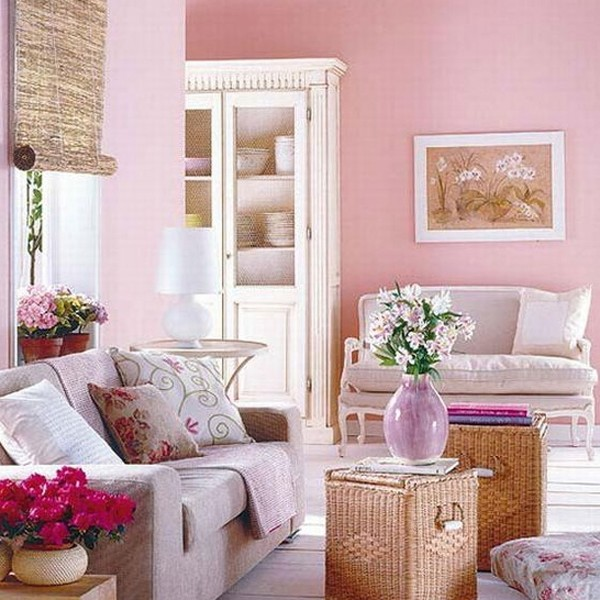 Chic and colorful spring living room ideas for Chic living room design ideas