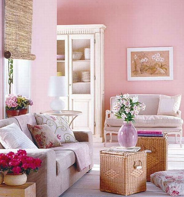 chic-and-colorful-spring-living-room-with-pink-themes