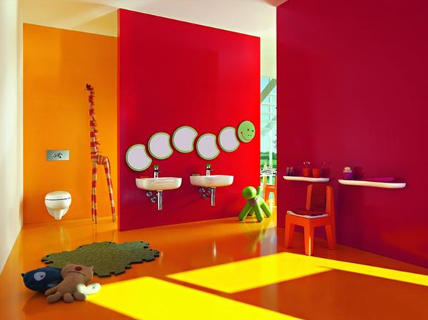 10 inspiring kids bathroom design by laufen home design - Salle de bain enfant ...