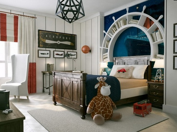 Cool And Cute Kids Bedroom Theme Ideas