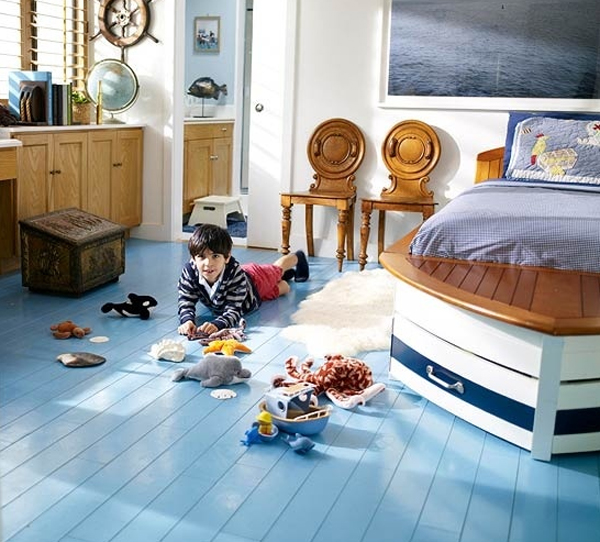 Cool kid bedroom ideas with sky theme for Cool kids bedroom designs