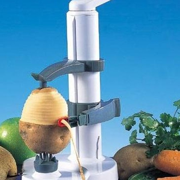 Creative And Fun Kitchen Gadget With Rotato Potato Peeler