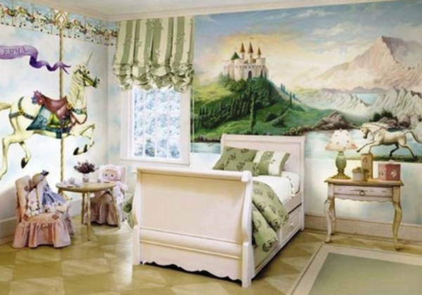 cute-girl-bedroom-theme-with-castle-ideas