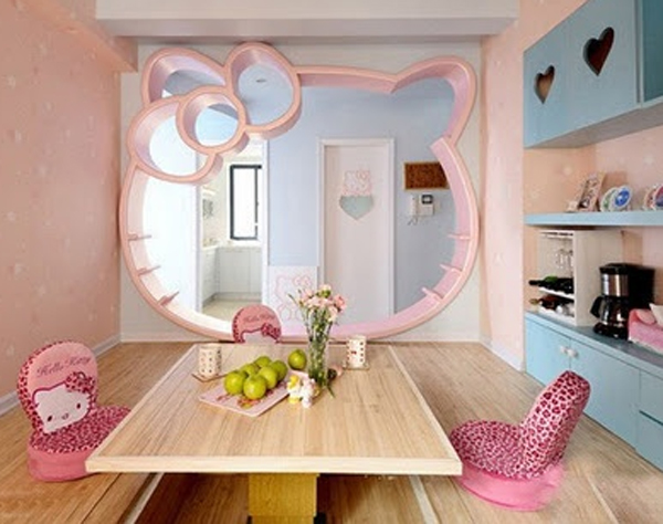 cute-hello-kitty-kitchen-design